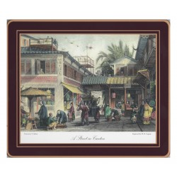 Lady Clare Chinese Engravings Coasters