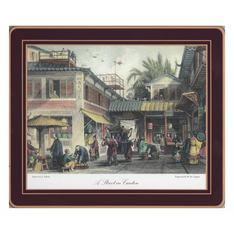 Lady Clare Placemats Chinese Engravings