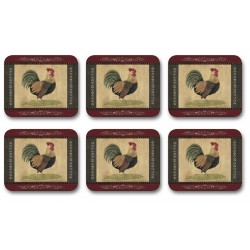 Jason Cottage Rooster drinks coasters