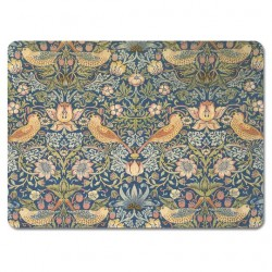 William Morris Mixed Patterns Strawberry Thief Tablemats