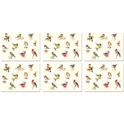 Garden Birds melamine tablemats British made