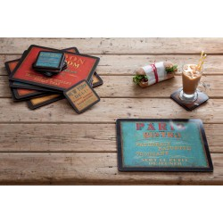 Lunchtime placemats and coasters by Pimpernel table setting