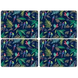 Pimpernel Sara Miller Parrot Large Placemats set of 4
