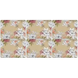 Pimpernel Floral Sketch standard sized placemats
