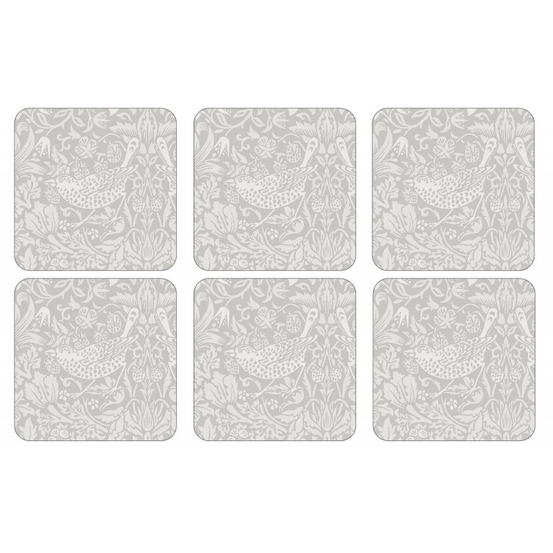Pimpernel Pure Strawberry Thief Morris drinks coasters