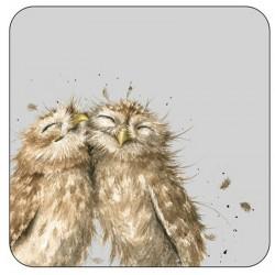 Wrendale Owl drinks Coasters