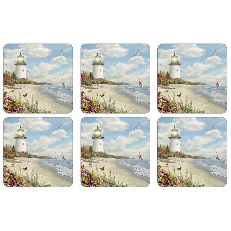 Pimpernel Rays of Hope drinks coasters