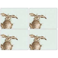 Wrendale Hare Large Placemats set of 4