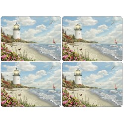 Set of 4 Pimpernel Rays of Hope Large Place mats