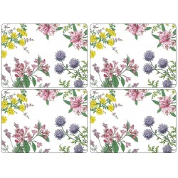 Pimpernel Stafford Blooms Large Place mats set of 4