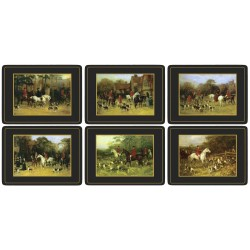 Pimpernel Tally Ho 6 tablemats coasters