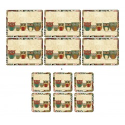 Pimpernel Pack Spice Road 6 tablemats and 6 coasters