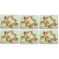 Pimpernel Antique Roses placemats all 6 standard size