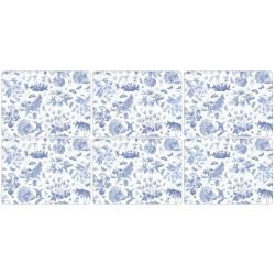 Pimpernel Botanic Blue placemats all6