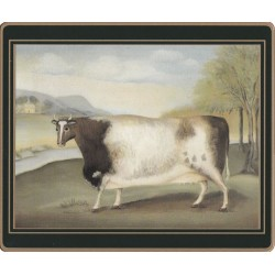 Lady Clare Traditional Naive Animals Placemats - Cow
