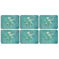 Set of Plymouth Pottery Infinity floral Placemats