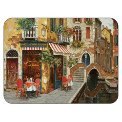 Plymouth Pottery Cafe Scene Placemats