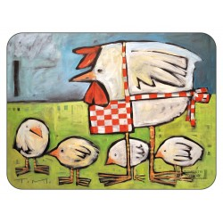 Plymouth Pottery Mother Hen placemats