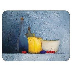 Plymouth Pottery Blue Harmony corkbacked Placemats