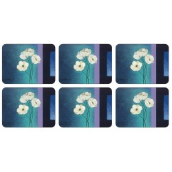 Set of six Plymouth Pottery Timeless corkbacked Placemats