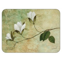 Plymouth Pottery Ivory Blossom floral corkbacked Placemats