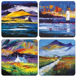 JoLoMo set of 4 square tablemats - assorted designs of the Isle of Mull