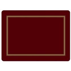 Pimpernel Classic Burgundy Large Placemats - single mat