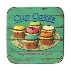 Castle Melamine Fairy Cakes coasters