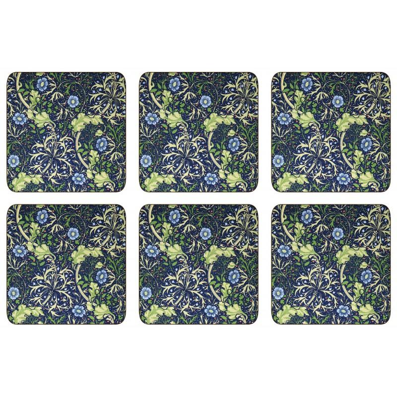 William Morris Seaweed Coaster