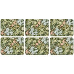 Castle Melamine William Morris Golden Lily Tablemats