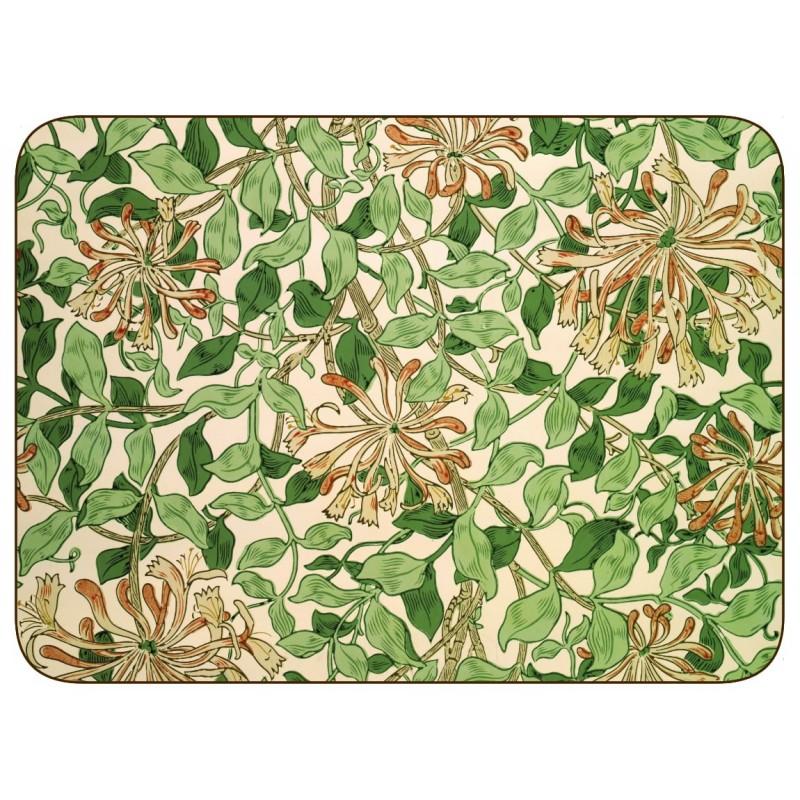 William Morris Honeysuckle placemats