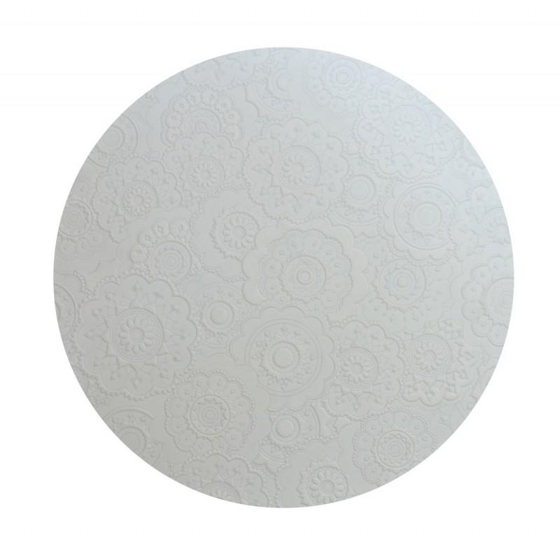 DOrient Urban White Silicone Round Placemats
