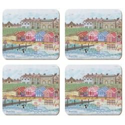 Emma Ball Abigail Mill Coastal Stitches Coaster