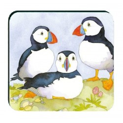 Emma Puffins Assorted coasters