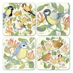 emma ball garden birds assorted Coaster