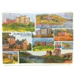 Emma Ball Scottish Castles placemats