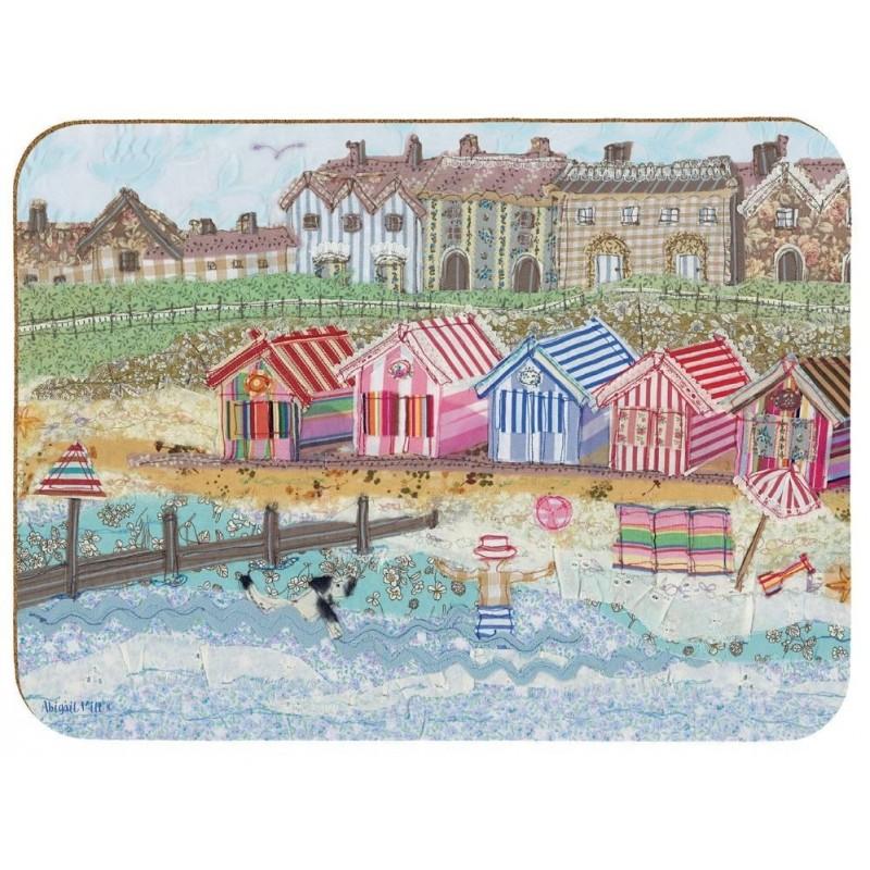 Emma Ball Abigail Mill Coastal Stitches placemats