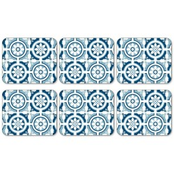Jason Lisbon Blue Coaster