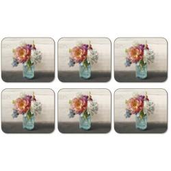 Jason French Cottage Bouquet Coaster