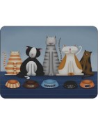 Placemats with an Animal Theme, Classic and Modern