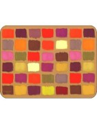 Contemporary Designs of Placemats and Coasters