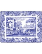Tablemats Depicting Scenes and Landscapes, Corkbacked